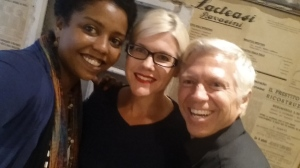 Natural Hair Expert, Sojourner McBride of BelegenzaWestchester with Cheryl Honc & Alan Eschenburg of Belegenza Extraordinary Hair Care.