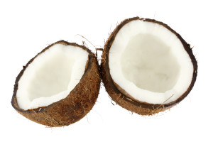 The raw oil of natural coconut is the base of a do it yourself hair growth treatment