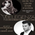 How to grow hair faster diet book Belegenza www.belegenza.com organic silicone free